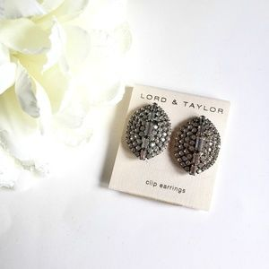 Lord & Taylor Clip Earrings